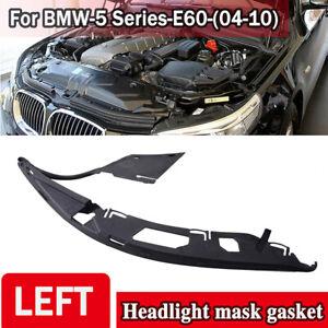 Left Side Headlight Headlamp Gasket For BMW E60 525xi 528i 530i 2004-2010