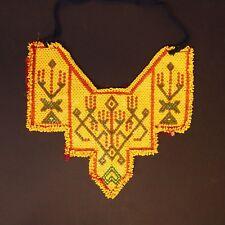Belly Dance Bellydance Kuchi Tribal Beaded NECKLACE 811d4