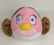 "Angry Birds Star Wars Princess Leia 10"" Pink Bird Plush Stuffed Toy Commonwealth"