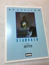 1986 Seaworld portfolio by Segrelles (artist of the Mercenary) from NBM