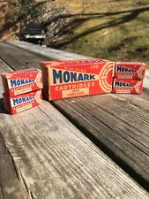 Vintage Federal Monark Empty .22 Empty Ammo Boxes And Brick