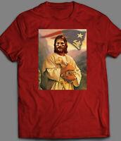TOM BRADY JESUS HOLDING BABY GOAT FOOTBALL T-Shirt *MANY OPTIONS*