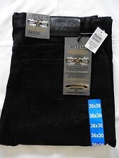 Urban Star men's jeans - relaxed fit - straight - 36 x 30 - black - NEW!