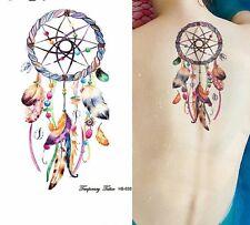 Dream catcher with beads Tattoo Temporary Stickers Body Art Tattoo Dreamcatcher