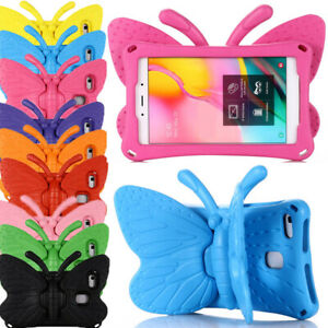 """Butterfly Kids Foam EVA Stand Case Cover For Amazon Fire HD 8 6th 7th 8th Gen 8"""""""
