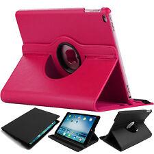 Apple iPad Air 1/2 Generation Mini 1,2,3, Mini 4 Leather Smart Rotate Case Cover
