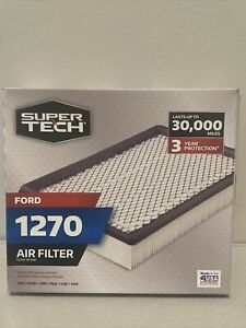 NEW SUPERTECH 1270 ENGINE AIR FILTER, REPLACEMENT FILTER FOR FORD
