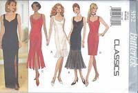 Butterick Sewing Pattern # 3152 Misses Petite Dress Sizes 18-20-22