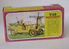 Repro Box Matchbox MOY Nr.16 1904 Spyker Blisterbox