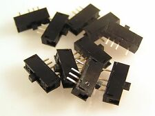 Alps Sub Miniatur Schiebeschalter PCB Aufhängung 0.5A SP3T 14x6x4mm OM0556