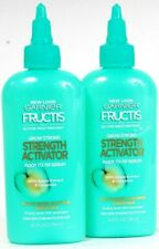 2 Ct Garnier Fructis 4 Oz Grow 10X Strong Strength Activator Root To Tip Serum