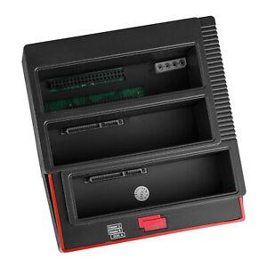 "3-Slot Hard Drive Docking 2 SATA 1 IDE Duplicator 2.5"" 3.5"" HDD Offline Copy"