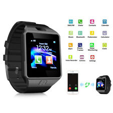 Hot Sale DZ09 Smart Watch Bluetooth Camera SIM Slot for Android IOS Phone Mate