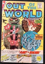 OUT OF THIS WORLD CHARLTON # 15  VG-- 1959 MATT BAKER STORY!!NICE EYE APPEAL
