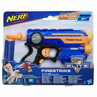 Nerf N-Strike Elite XD Firestrike Soft Darts Gun Blaster With Light Beam Kids