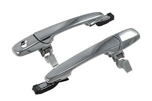 2005-2014 Ford Mustang Saleen Chrome Exterior Outside Complete Door Handles
