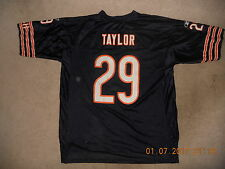 Chicago Bears Nfl Football Jersey #29 Chester Taylor #29 Reebok Blue Xl Euc Swee