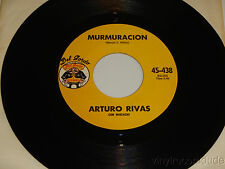 ARTURO RIVAS Al Diablo Mis Penas / Murmuracion 45 DEL GORDO 45-438 RARE Tex-Mex