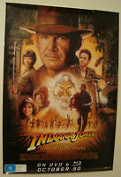 original Indiana Jones 2008 70 x100cm RARE MOVIE FILM POSTER VIDEO STORE