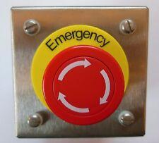 NEWLEC EMERGENCY STOP PUSH BUTTON STATION  NLESPBSSN