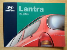 HYUNDAI LANTRA ESTATE 1997 1998 UK Mkt sales brochure
