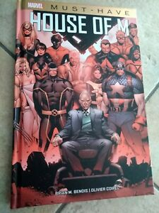 X-Men / Avengers HOUSE OF M (libro Marvel Must Have, Panini Comics)<= come nuovo