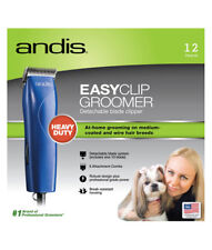 Andis MBG2 EasyClip Dog Clippers Heavy Duty 12 Piece Kit AU Model 240v Clipper