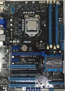 ASUS P8Z77-V LX Motherboard + i5-3570K @ 3.40 GHz