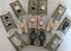 Wholesale Job Lot 13 Mens Womens Watches Rrp 225 A35