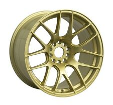 XXR 530 18x8.75/9.75 ET20 Staggered Gold Wheels Fit Nissan 240SX 300ZX 350Z 370Z