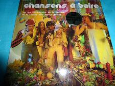 Chansons à boire (Compagnons de la Barrique/Groupe des Joyeux Lurons) 2 LP