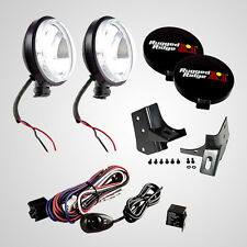 Windshield Light Brackets & 100 Watt Slim Lights Jeep Wrangler TJ 97-06 12495.06