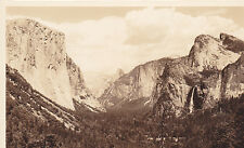 Postcard Rppc View from Wawona Road Oregon Mountains unused