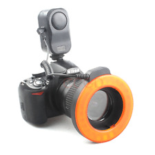 WanSen 48 LED Continuous Light+ 6 Lens Adapter Ring for DSLR Canon Nikon camera
