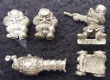 1987 Enano Flame Cannon 0308 Warhammer Games Workshop máquina de guerra de fuego Arma Asedio