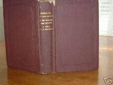 MATERIALISME ET SPIRITUALISME Par M. ALPH LEBLAIS 1865
