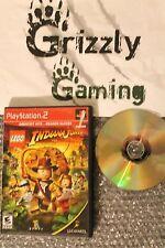 LEGO Indiana Jones: The Original Adventures PS2 (NTSC)