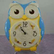 Ceramic Owl Wall Clock By Grasslands Roads