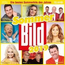 SOMMER BILD 2019 -DANIALA ALFINITO,ANDREA BERG,THOMAS ANDERS... 2 CD NEUF