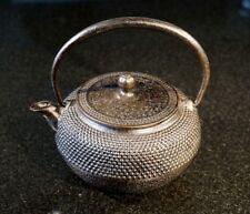 Vintage Japanese Cast Iron 400ml Unsealed Teapot