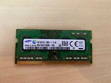 Samsung ram memory 4GB (1 x 4GB) DDR3 PC3-12800,1600MHz, 204 PIN laptop