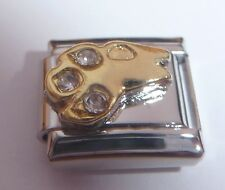 ARIES Italian Charm CLEAR GEMS Zodiac Horoscope 9mm fits Classic Bracelets N489