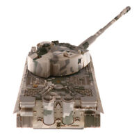 1/32 Scale German Tiger Tank Model WWII Heavy Panzer - Camouflage Yellow