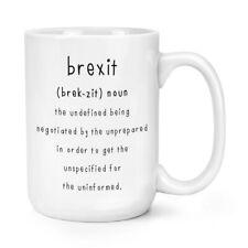 Brexit The Undefined 15oz Large Mug Cup Funny Political Joke Britain Europe EU