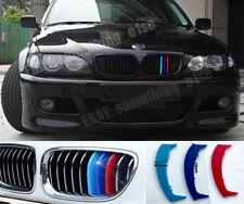 BMW 3,E46 1997-01,saloon,estate,Grille M 3/tri-Colour Cover/Cap/Clip/Strip/Trim
