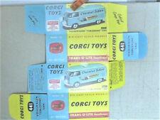 REPLIQUE  BOITE CORGI VW KOMBI TOBLERONE 1963