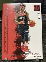 2019-20 Impeccable #55 Isaiah Thomas Rare Silver SSP 4/75 = 1/1 Jersey # Match!!