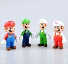 Toys Super Mario Bros Lot 4Pcs Mario And Luigi Figure Toy