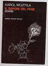 Karol Wojtila - il sapore del pane poesie - marprimus