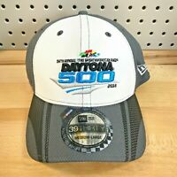 Daytona 500 NASCAR 58th Annual New Era Stretch Fit 39THIRTY Cap 2016 NWT Hat M/L